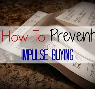 5 Ways To Prevent Impulse Buying