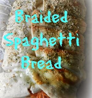 Braided Spaghetti Bread
