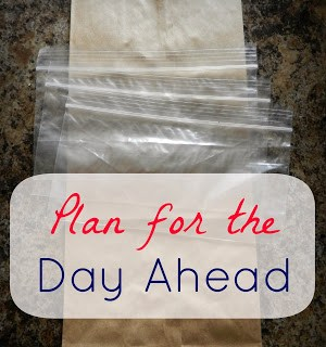 New Year, New YOU: Tip #4 – Plan for the Day Ahead