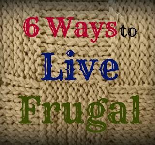 Living Frugal