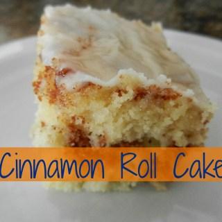 Delicious Cinnamon Roll Cake