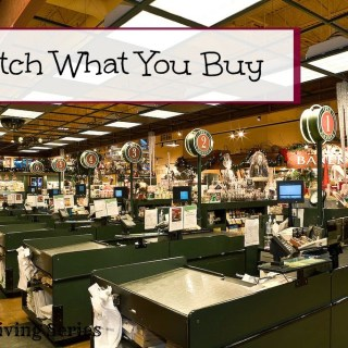 Simple Living: Watch What You Buy