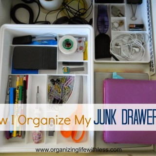 How I Organize My Junk Drawer