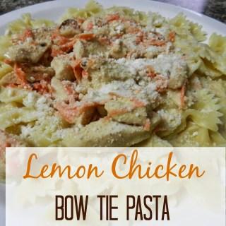 Lemon Chicken Bow Tie Pasta