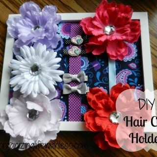 DIY Hair Clip Holder