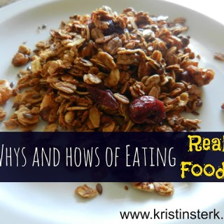 "The Whys and Hows of Eating ""Real Food"""