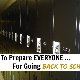 How To Prepare EVERYONE For Going Back To School