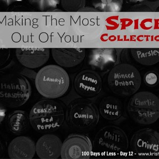 Making The Most Out Of Your Spice Collection – Day 12