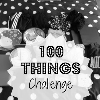 Another 100 Things Challenge!