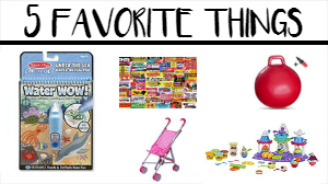 5 Favorite Things Friday #1