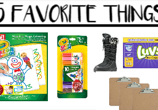 5 Favorite Things Friday #3