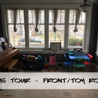 Home Tour – Front/Toy Room