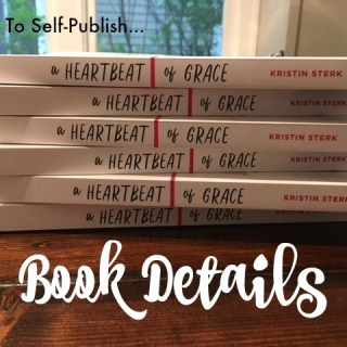 Self-Publishing: Book Details