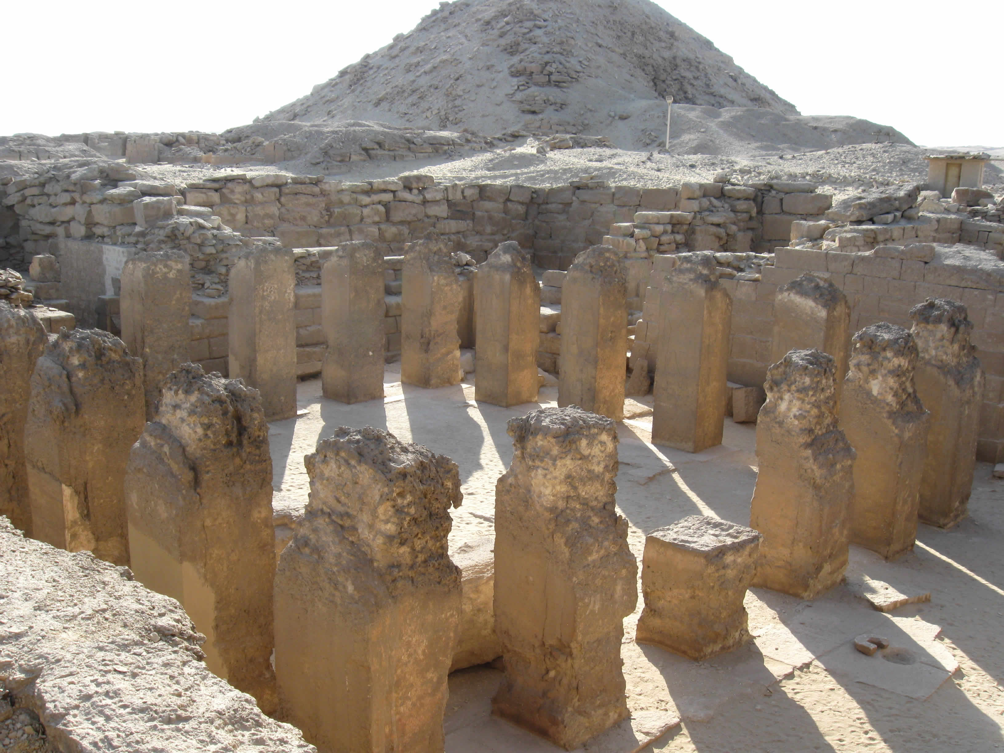 Pillared Courtyard in Mastaba of Ptahshepses