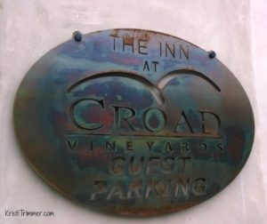 Croad Vineyards - The Sign