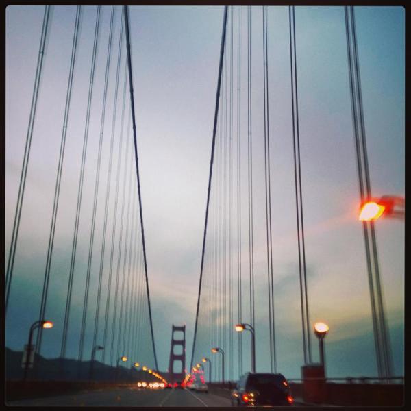 Golden Gate Bridge - Driving