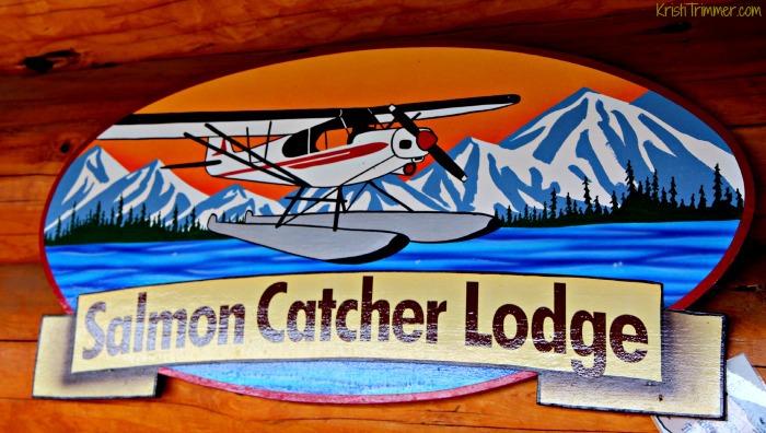 Salmon Catcher Lodge - Sign