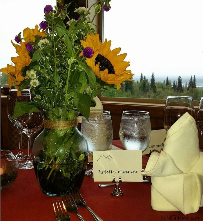 Talkeetna Lodge - Tablescape