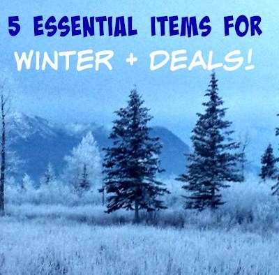 5 Essential Items for Winter + Deals!