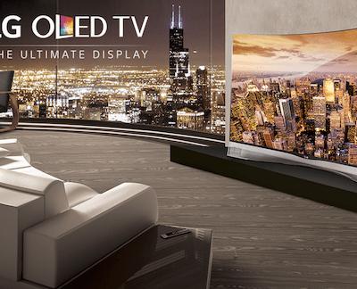 Stunning LG OLED TV at Best Buy