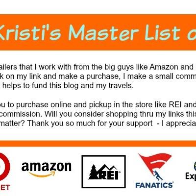 Kristi's Master Lists of Links
