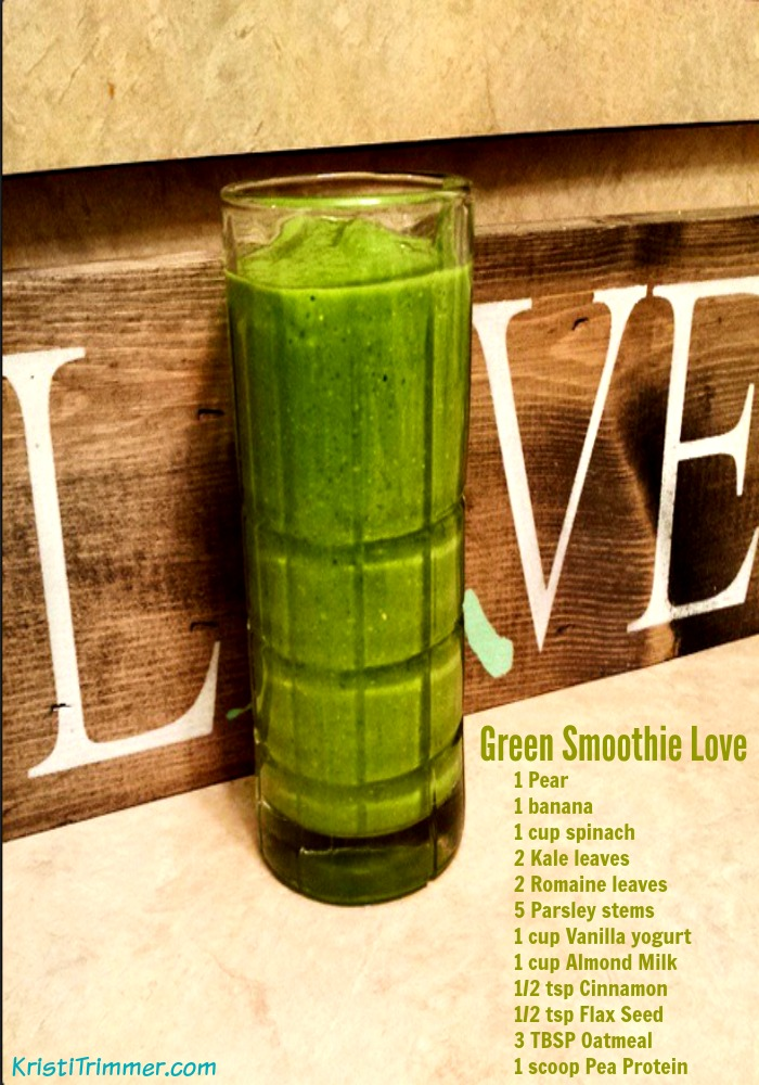 Green Smoothie Love Vertical