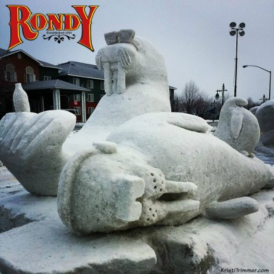 Fur Rondy: Snow Sculptures