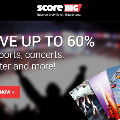 ScoreBig (or Go Home) on Game & Event Tickets