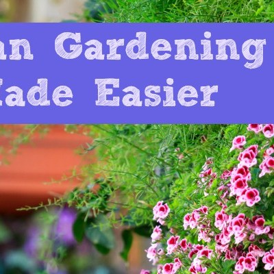 Urban Gardening Made Easier