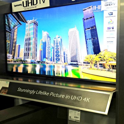 Samsung 4K SUHD TVs Hit Best Buy