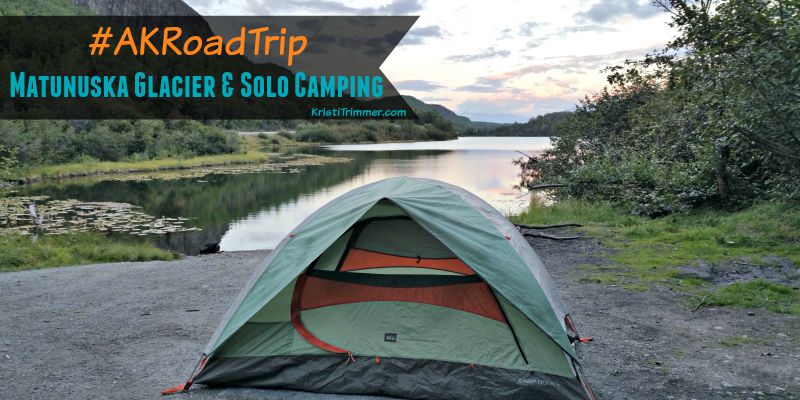 Alaska solo camping