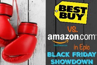 Best Buy vs. Amazon in Epic Black Friday Showdown