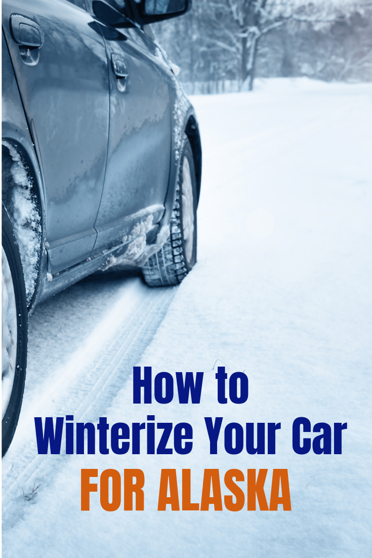 How to Winterize Your Car for Alaska #winterizecar #winterizevehicle #wintercartips