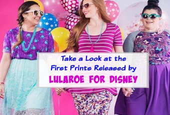 Take a Look at the First Prints Released by Lularoe for Disney