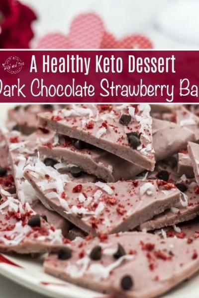 Healthy Paleo Strawberry Dessert