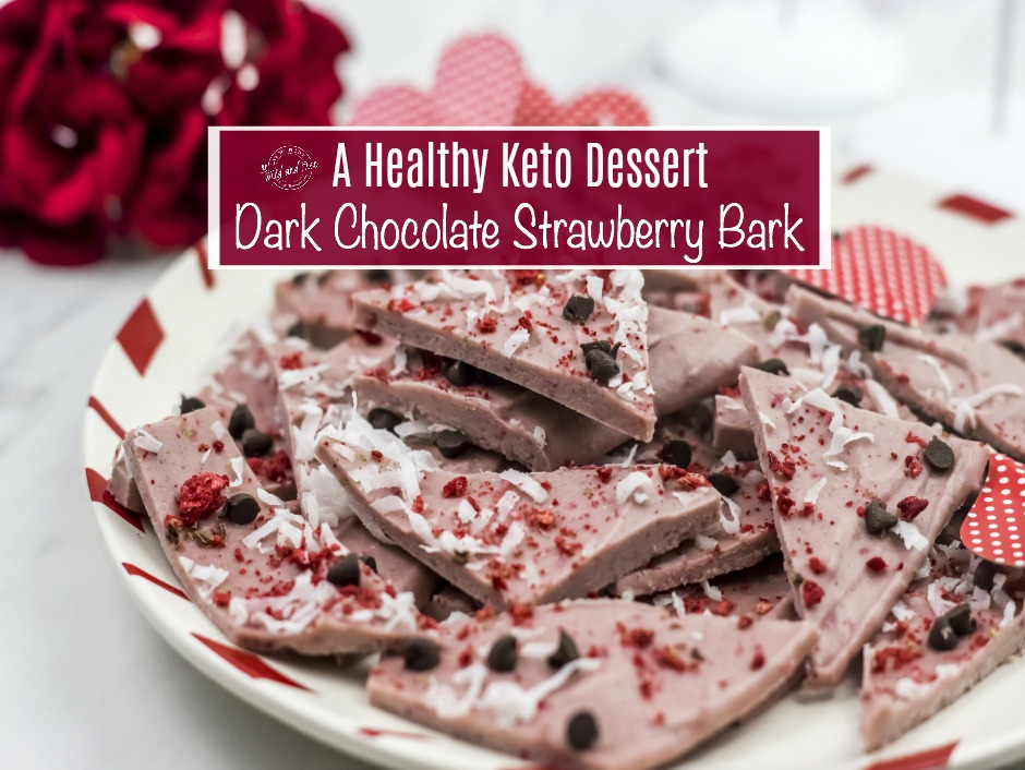Healthy Paleo Strawberry Dessert