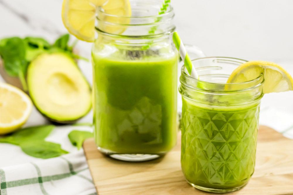 keto spinach smoothie