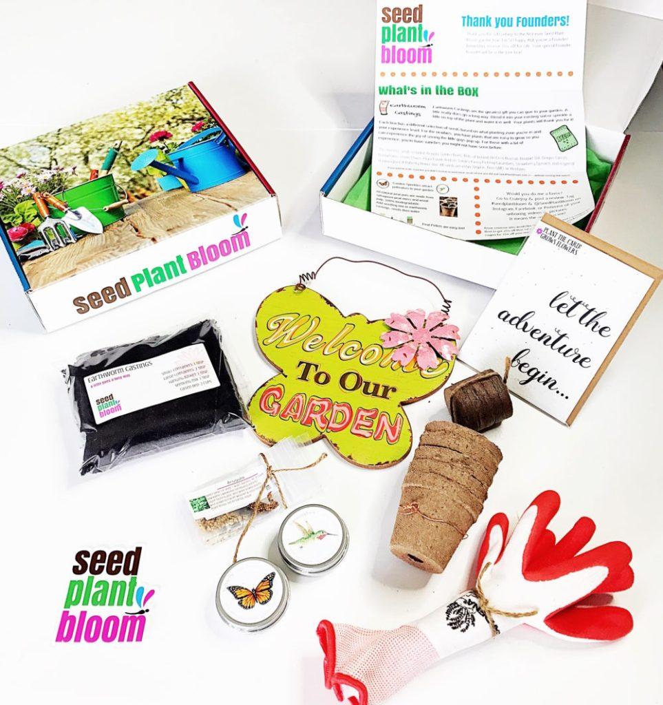 organic gardening subscription box