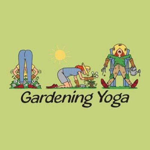 Gardening Yoga