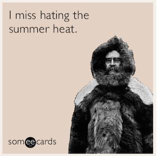 I miss hating the summer heat #neverhappy #fall #autumn #fallmemes #memes