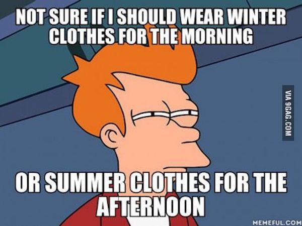 Tough decisions for sure. #fall #autumn #fallmemes #memes #whattowear