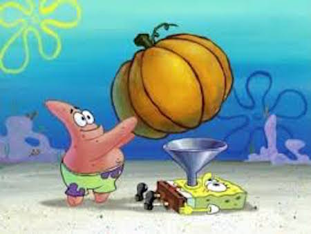 Underwater pumpkin fun! #fall #autumn #fallmemes #memes #pumpkins