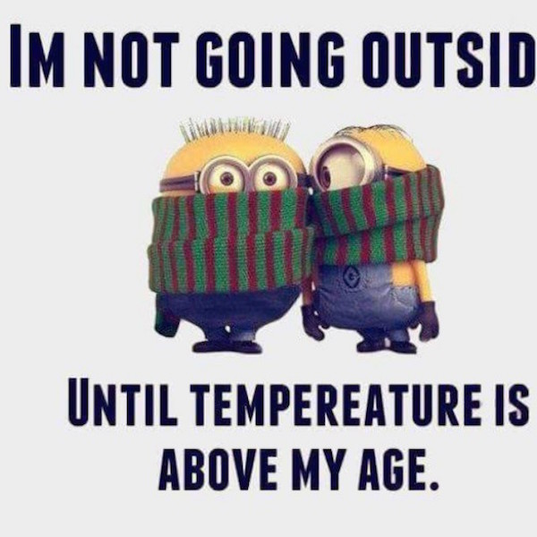 I'm not going outside until temperature is above my age #fall #autumn #fallmemes #memes #toocold