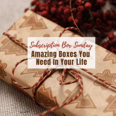 Subscription Box Sunday: Amazing Boxes You Need In Your Life