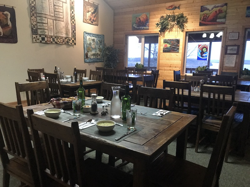 Bear Trail Lodge Dining Room #lodgelife #alaskalodge #alaska