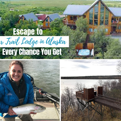 Escape to Bear Trail Lodge in Alaska Every Chance You Get