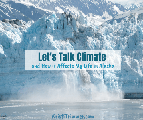 Let's Talk Climate Change in Alaska #alaska #climatechange #glaciers