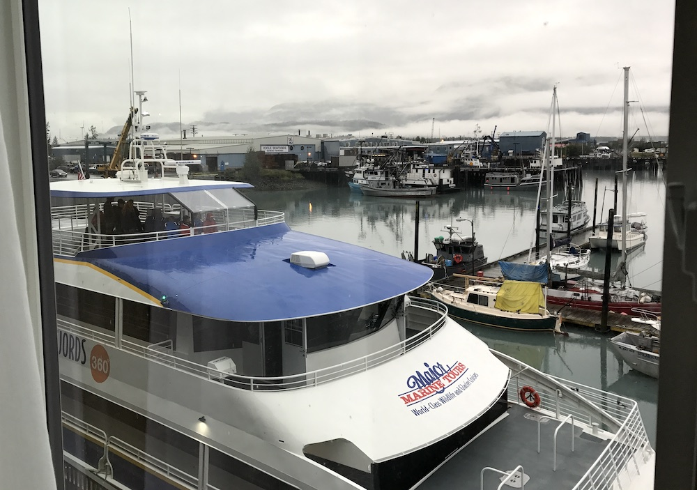 Major Marine Tours + Harbor 360 View from Room #sewardaalaska #alaska #travelalaska
