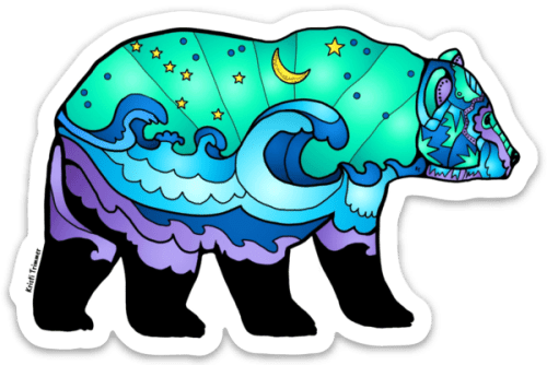Ocean Wave Sticker