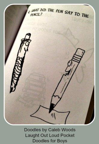 doodles boys pens